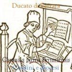 Chronica parva Ferrariensis: confini e diocesi